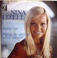 "7"" 1972 KULT! NINA LIZELL : Aloha-Oe // RARE IN VG++ \"