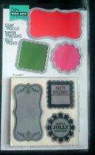 Sizzix Stamp & Die Set Etichette da Hero Arts 3 TIMBRO 3 Die Set