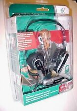 Logitech Premium Notebook Silver Black Neckband Headsets No. 097855039767 New