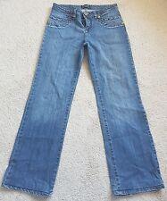 Christian Dior Ladies woman denim jeans straigt cut  width 14inch lengh 33inch