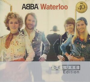 ABBA Waterloo Deluxe Edition CD & DVD Like New Played Once 40th Anniversary