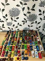 Big Bundle 88x Vintage Hot Wheels, Matchbox Diecast Cars Various Models