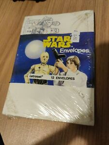 STAR WARS 1977 Letraset Set Of 12 envelopes rare promo