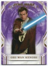 2018 Star Wars Masterwork Purple 5 Obi-Wan Kenobi 02/50