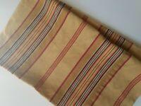 Eddie Bauer Home Pillow Case STANDARD Sham Tan Brown Orange Striped 100% Cotton