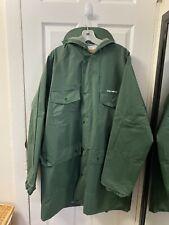 Men's Rainskins Rain Coat Jacket, Boating Hunting, Large