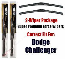 Wipers 2-Pack Hi-Performance - fits 2008+ Dodge Challenger - 25220x2