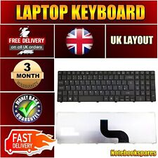 ACER ASPIRE 5333 5336G 5338G 5542N 5542W  LAPTOP KEYBOARD UK LAYOUT BLACK