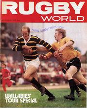 Rugby World Magazine de noviembre de 1975-Regalo Perfecto Para Un Fan nacido en este mes