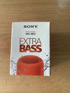 Enceinte Sony SRS-XB12 Rouge