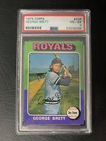 1975 Topps George Brett ROOKIE RC #228 PSA 4 VGEX