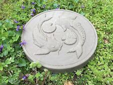 Koi Fish Stepping Stone Mold Concrete Cement Mould ABS Garden path Decor