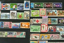 GIBRALTAR used miscellany, including 1966 Churchill set (50)