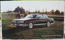 "1984 Oldsmobile Cutlass Supreme Brougham Showroom Poster Advertising GM 27""x16"""