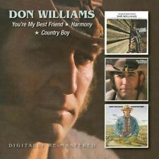 Don Williams You're My Best Friend/Harmony/Country Boy Remaster 2CD NEW unsealed