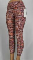 "NEW LULULEMON Fast Free 25"" Reflective Tight 2 4 6 8 10 12 Flash Pleat Orange"