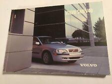 VOLVO S40 & V40 OWNERS MANUAL DRIVERS HANDBOOK 2002 PETROL DIESEL + TURBO MODELS