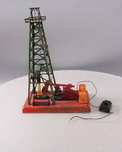 Lionel 455 Vintage O Operating Oil Derrick and Pumper