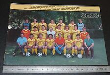 CLIPPING POSTER FOOTBALL 1985-1986 D2 US ORLEANS LA SOURCE USO