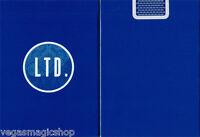LTD Blue Deck Playing Cards Poker Size USPCC ellusionist Custom Limited Sealed
