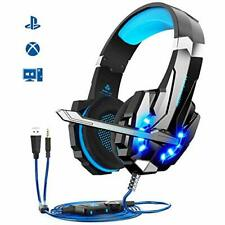 Micro Casque Gaming PS4 Bass Anti-Bruit LED