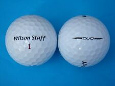 50 WILSON DUO GOLF BALLS IN MINT/A GRADE CONDITION