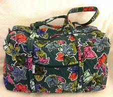NWT Vera Bradley Large Duffel Travel Gym Bag in Falling Flowers #180919-513