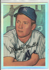 1996 TOPPS MICKEY MANTLE COMMEMORATIVE REFRACTOR (1952 BOWMAN) #20 SWEET!