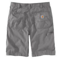 Carhartt 103021C - Men's Force Tappan Work Shorts - Asphalt 066