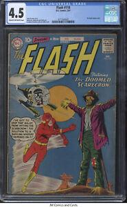 Flash #118 1961 CGC 4.5 - Broome story, Infantino art/cover - Kid Flash backup