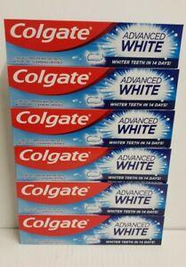 Colgate  Advanced White toothpaste 100ml x 6 tubes
