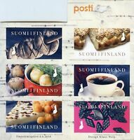 Finland 2018 MNH Finnish Tastes 6v S/A Booklet Gastronomy Food Drink Stamps