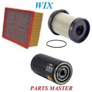 Tune Up Kit Air Oil Fuel Filters Fit DODGE RAM 4500 L6; 6.7L 2010