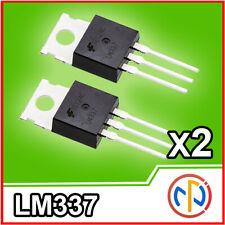 2x LM337 Regolatore di tensione negativa -30V 1.5A