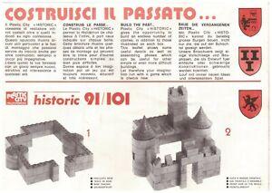GRATIS immagini Catalogo Plastic City Italocremona Historic costruzioni castello