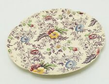 Johnson Brothers Old English Chintz Lavender Multi-Color Bread & Butter Plate