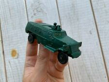 Vintage USSR Soviet Army Military WW2 Cast Metal Armored Carrier Tank