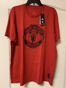 NEW W TAGS - Manchester United FC Adidas T Shirt - XL