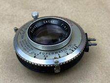 Kodak Ektar 127mm f/4.7 Graphic Lens with Supermatic Shutter - Large Format Lens