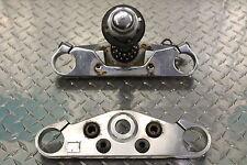 96 Honda Shadow Ace 1100 VT 1100 C2 Forks Clamp Lower Upper Triple Stem Set