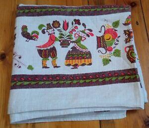 Vintage Scandinavian Tablecloth