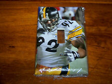 PITTSBURGH STEELERS JAMES HARRISON LIGHT SWITCH PLATE