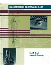 Product Design and Development by Karl T. Ulrich, Steven D. Eppinger
