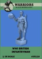 Warriors 1:35 WWI British Infantryman Resin Figure Kit #35110