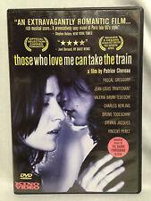 Those Who Love Me can Take the Train (French Language DVD, 1998) English Subtit.