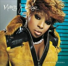 No More Drama by Mary J. Blige CD Aug 2001 MCA Records New Sealed