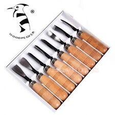 NEW Wood Carving Tools Chip Detail Chisel set Knives 8Pcs Knife