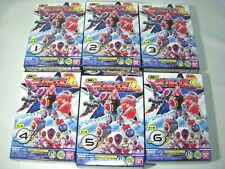Bandai Kyurenoh 2 Mini Pla Lot of 6 Set Toy Model kit