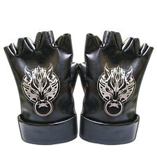 "Final Fantasy VII Cosplay ""Ex-SOLDIER, Spiky, Spike"" Cloud Strife Leather Gloves"