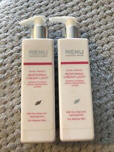 Renu Professional Skincare Extra Firming Retoring Cream Light 180ml X2